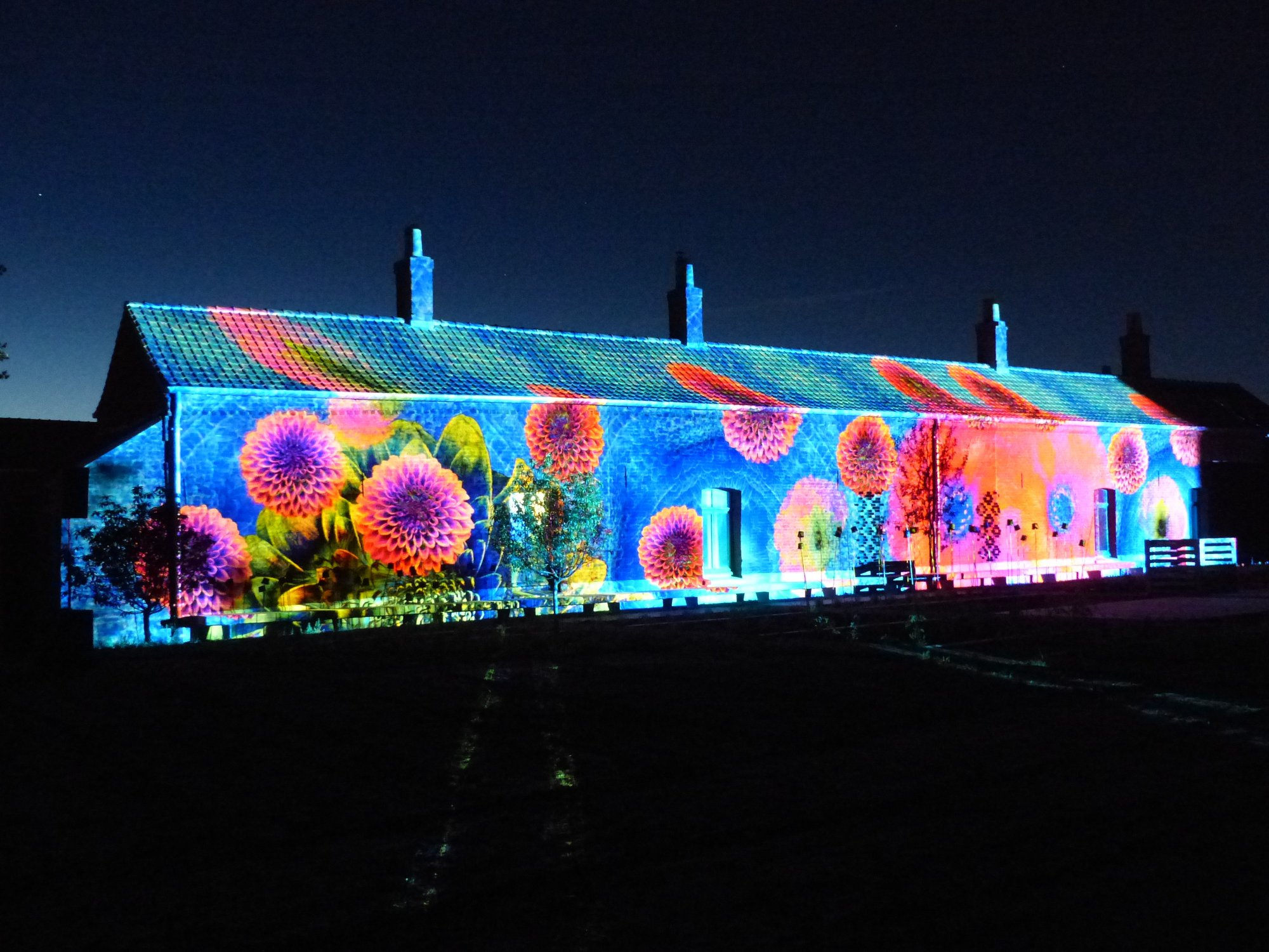 Video Mapping Festival; FORR - PAYSAGE | URBANISME
