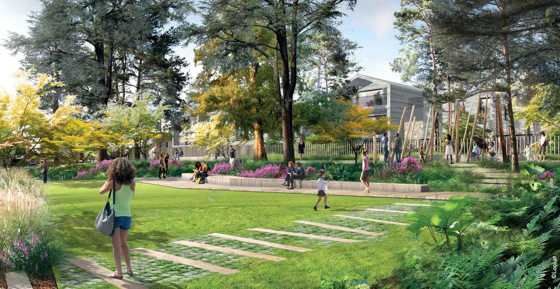 Jardin Beau site ; Verrières-le-Buisson ; FORR - PAYSAGE   URBANISME ; FORR paysagiste
