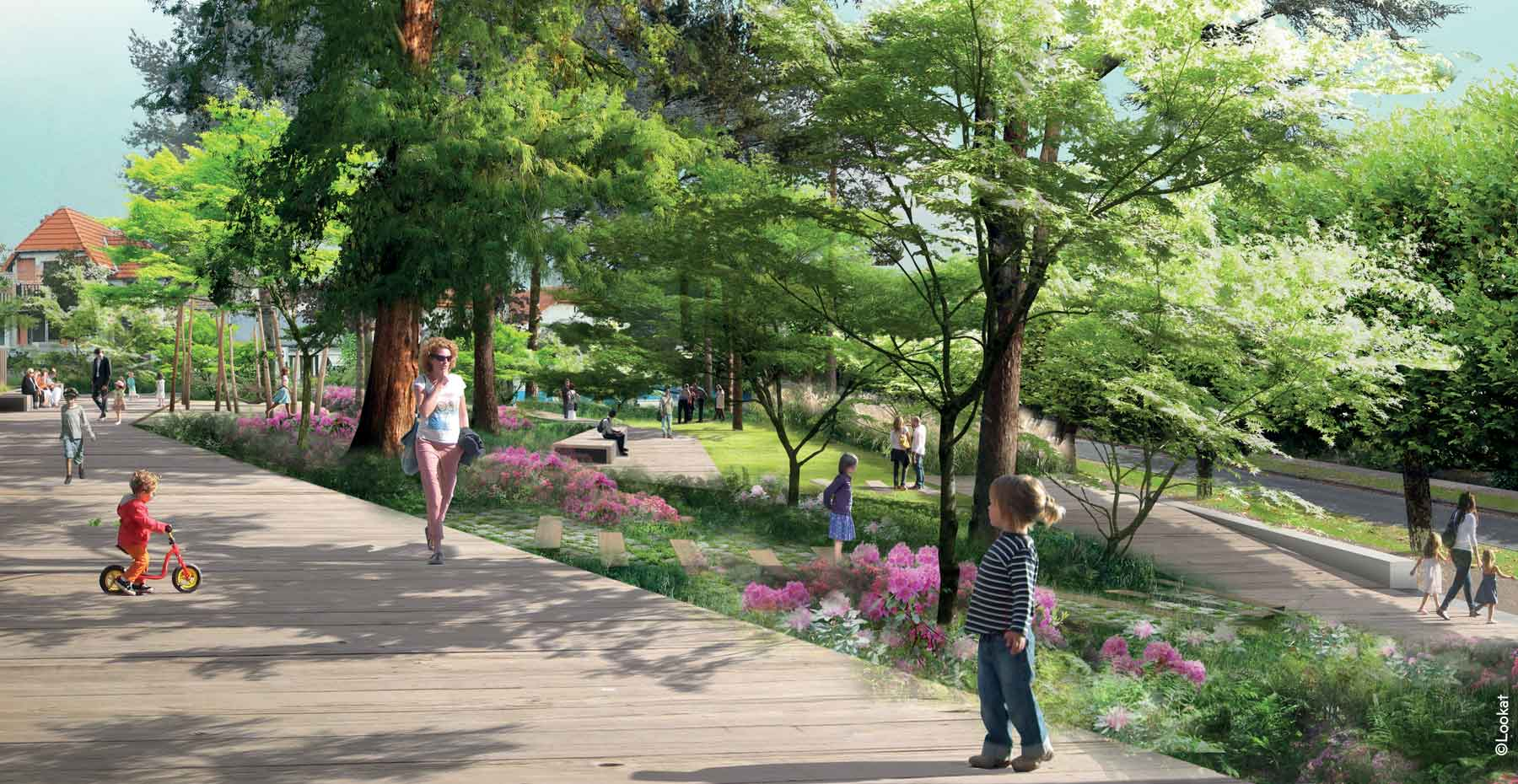 Jardin Beau site ; Verrières-le-Buisson ; FORR - PAYSAGE | URBANISME ; FORR paysagiste