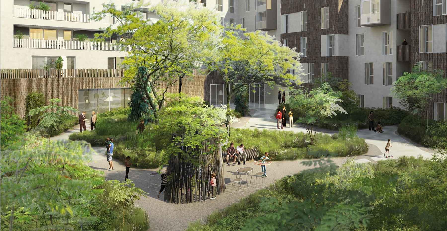 Jardin rhizome pantin seine saint denis forr - Deco jardin rouscht saint denis ...