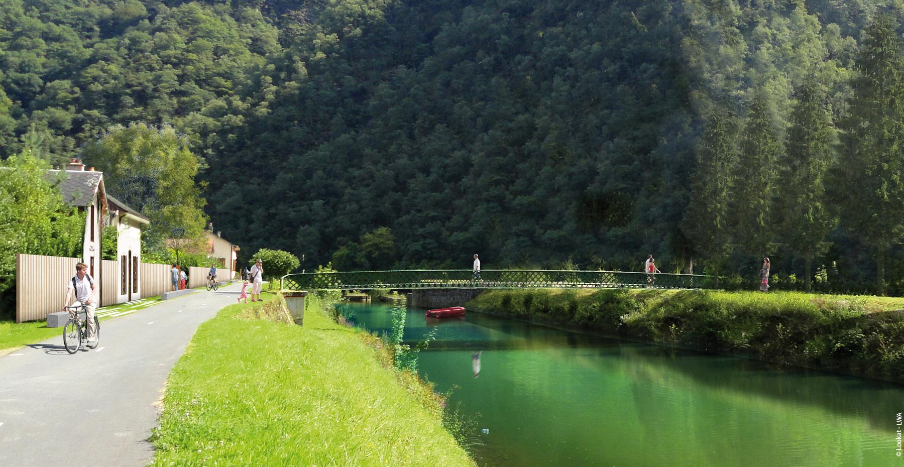 Acupuncture fluviale ; Aisne et Meuse ; FORR - PAYSAGE | URBANISME ; FORR paysagiste