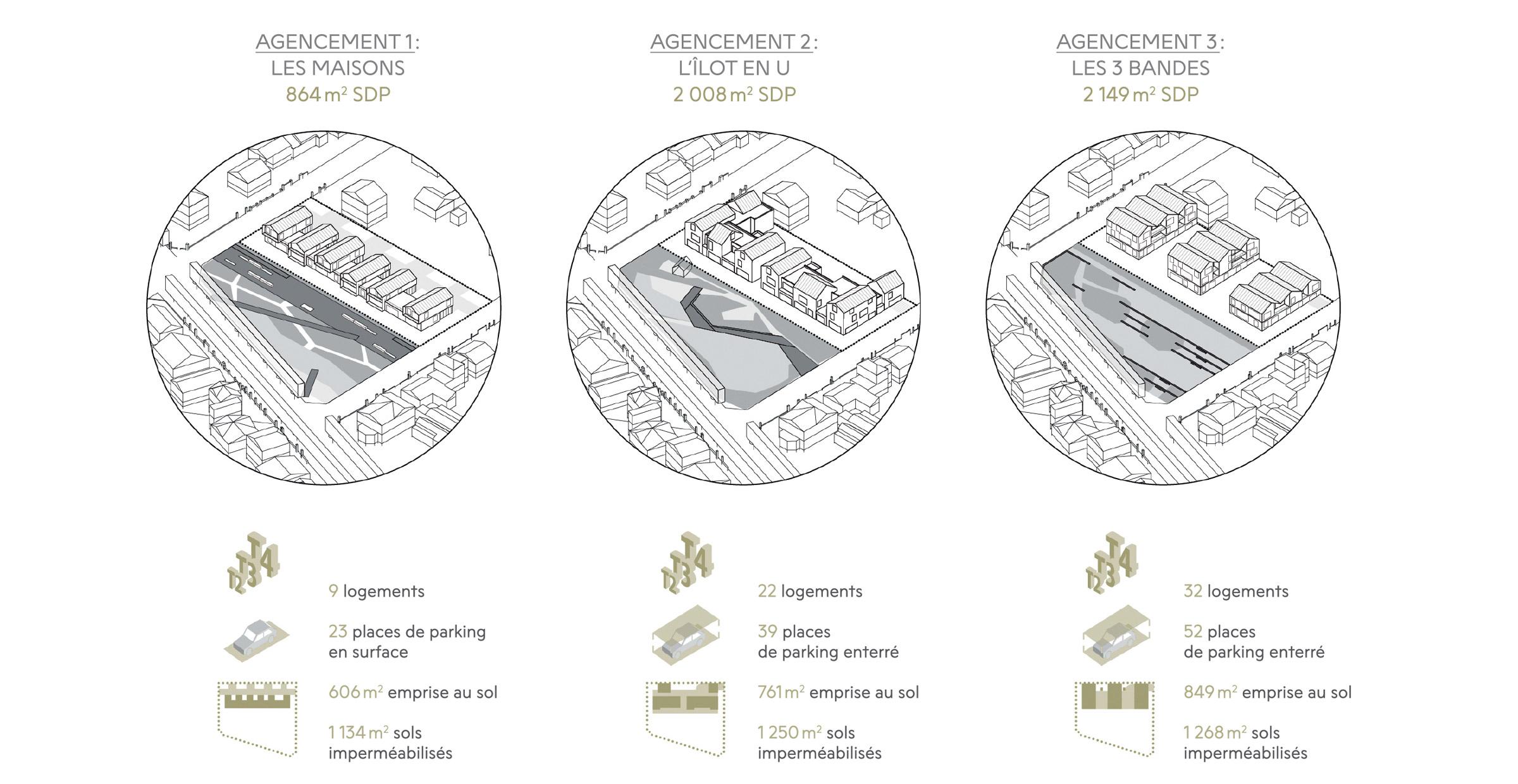 Quartier Beau site ; Verrières-le-Buisson ; FORR - PAYSAGE | URBANISME ; FORR paysagiste
