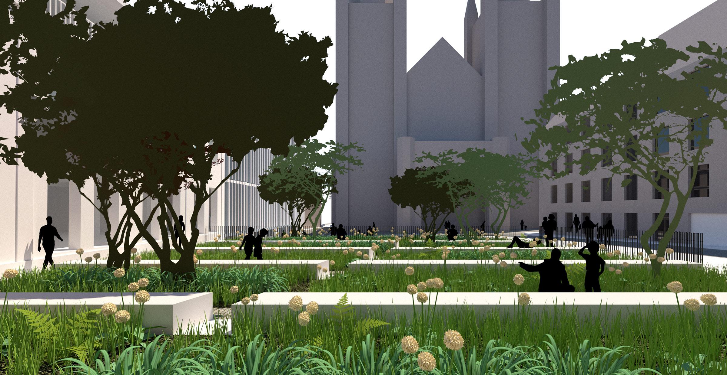 Le jardin des livres ; Bayonne; FORR - PAYSAGE | URBANISME; FORR paysagiste